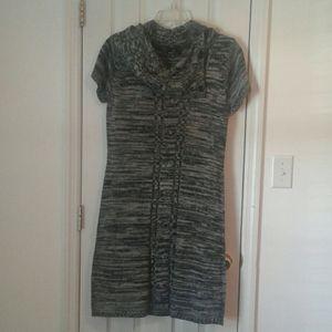 Ronni Nicole Cowl Neck Sweater Dress Size 1X